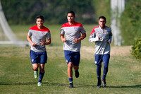 USA MNT Julio Morales and Dennis Flores